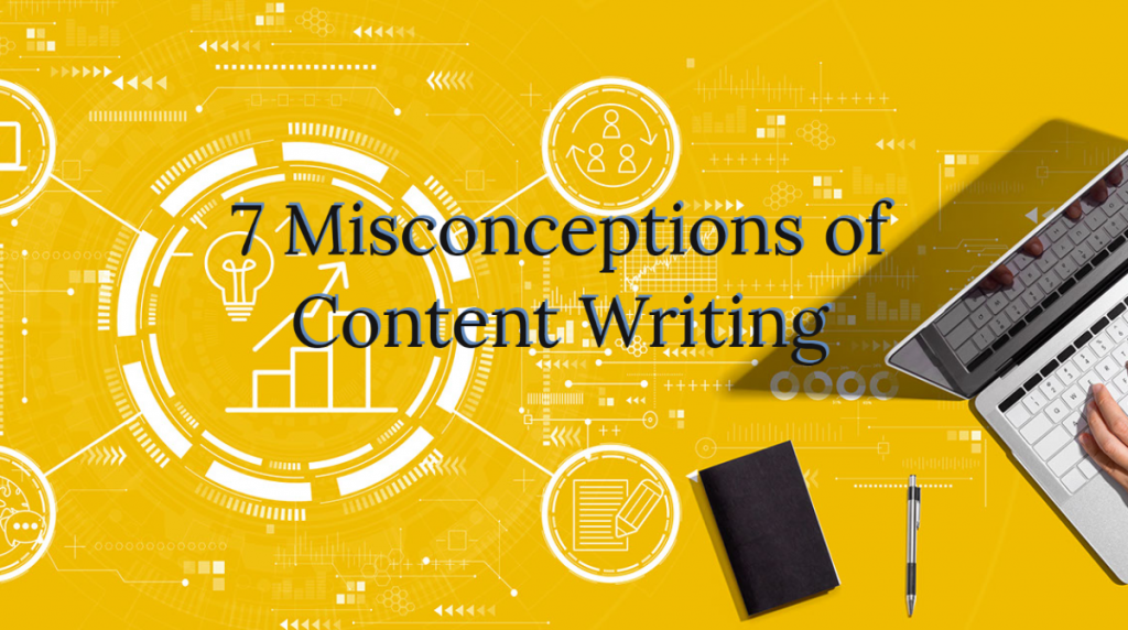 Misconceptions in content writing